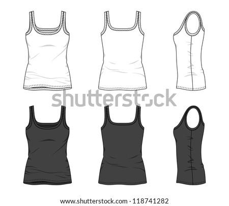 blank women's top