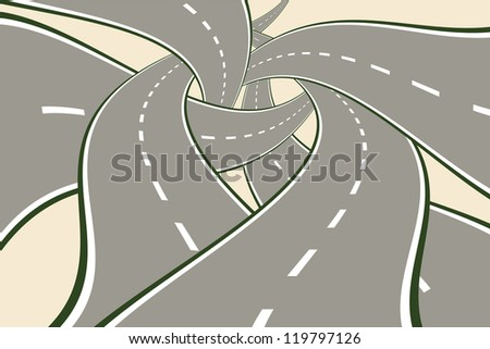 tangled roads modern choice
