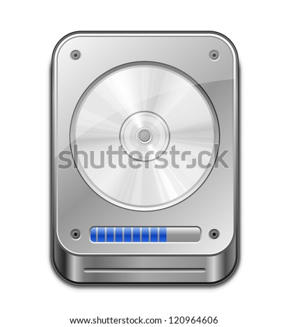 hdd icon vector illustration