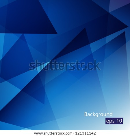 elegant geometric blue