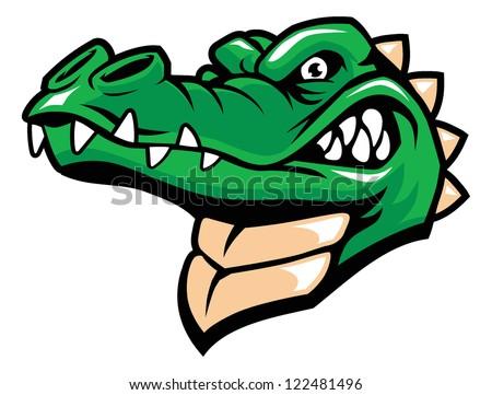 Crocodile Logo Head Alligator Face Animated Www Picturesso Com