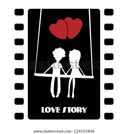 love story illustration