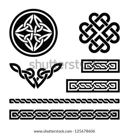 celtic knots  braids and