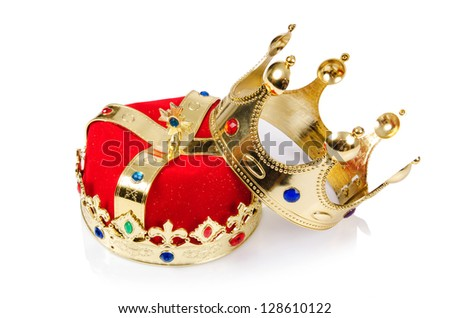 King Crown Wallpaper king crown isolated on white