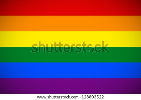 flag of the lgbt community with