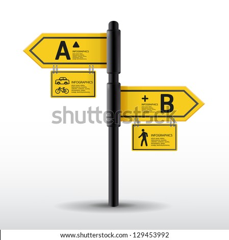modern road sign design