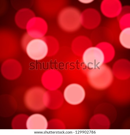 defocused abstract red