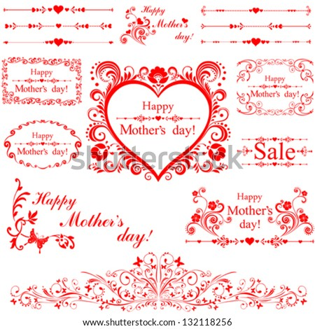 happy mother day  collection of