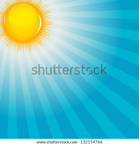 cloud and sunny background