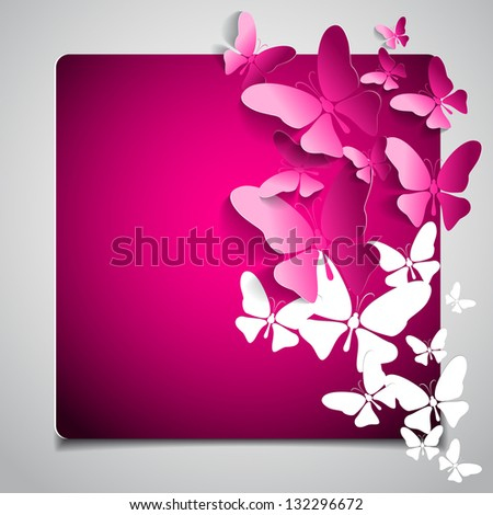 greeting gift card with paper