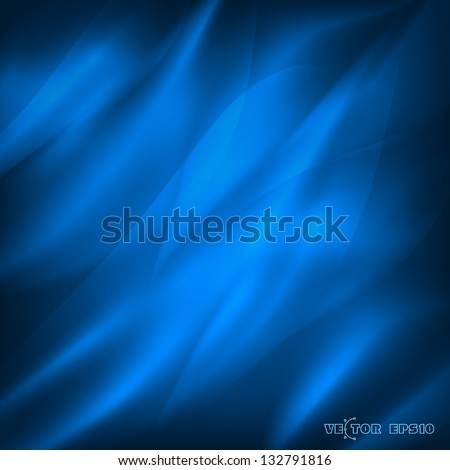 blue background with waves  the