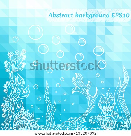 sea underwater background