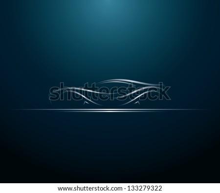 car lines   vector illustration