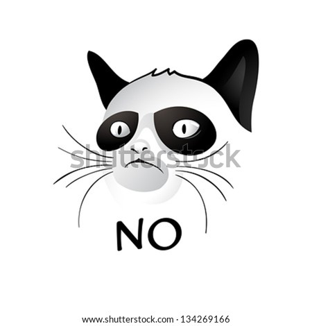 cartoon cat   social character