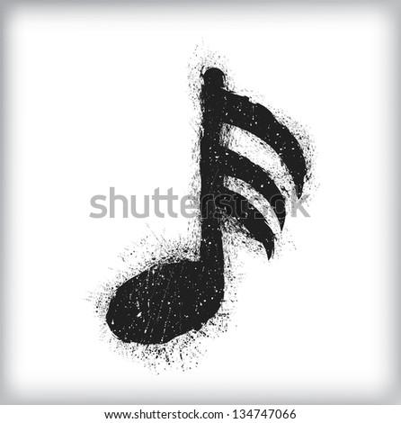 grunge music symbol