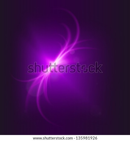 space background purple bird