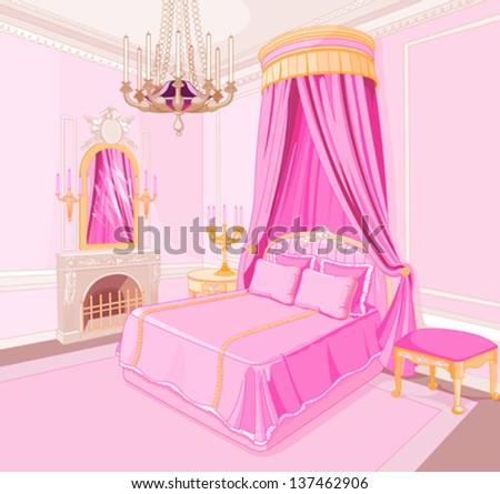 interior of magic princess