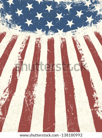 american flag themed background