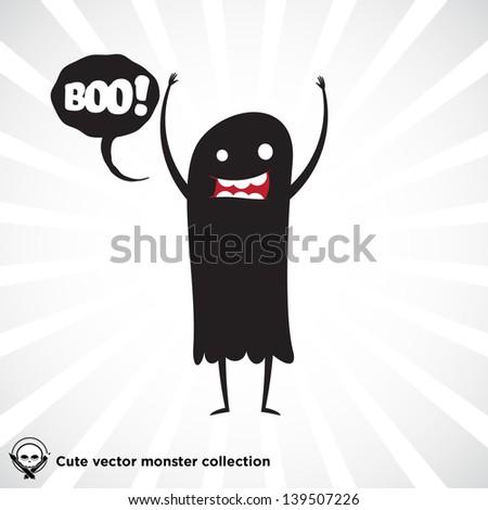 cute little black monster for