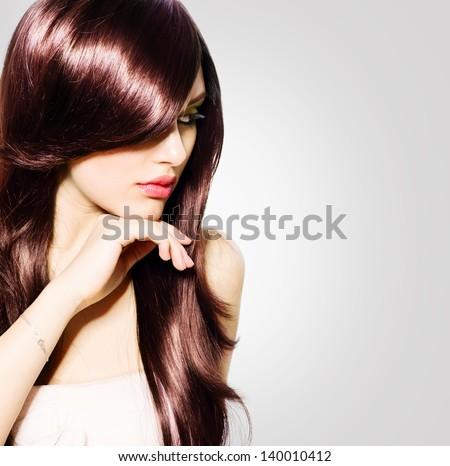 ... Background. Hairstyle. Stylish Haircut. Fringe. Glossy Smooth Fashion