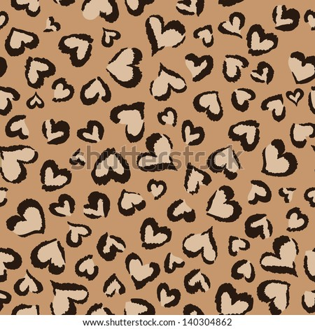animal hearts seamless