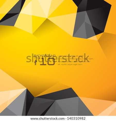 polygonal design   abstract