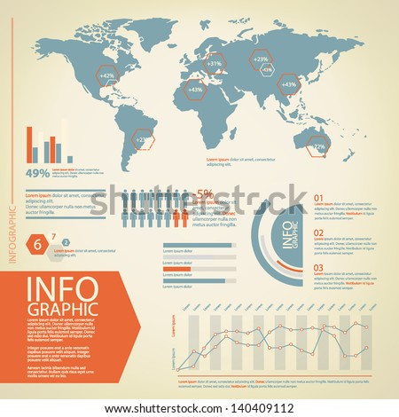 detail infographic vector