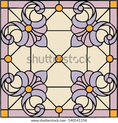 french lilies  symmetric
