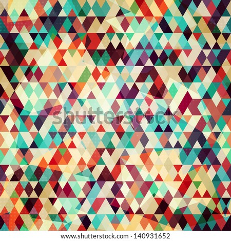 colored triangle seamless