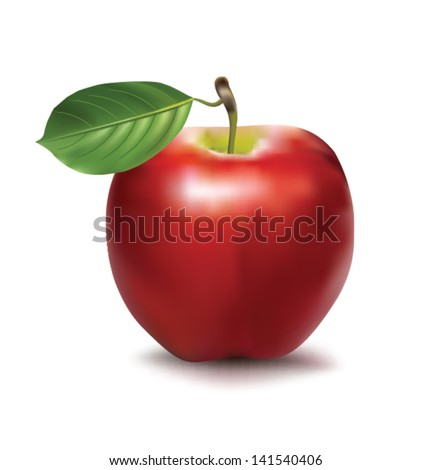 vector apple