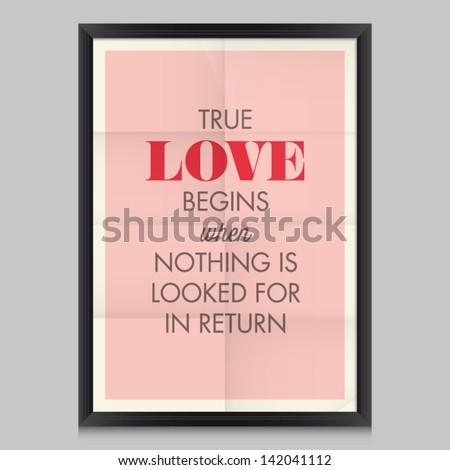 love quote poster antoine de