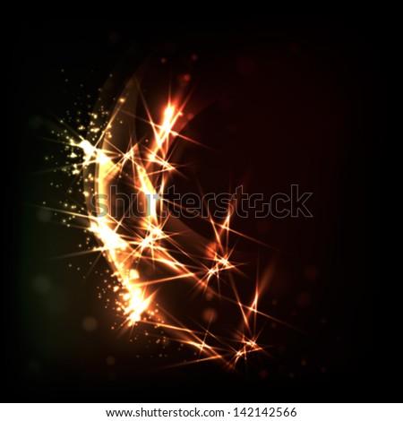 golden sparks