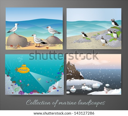 marine landscapes collection