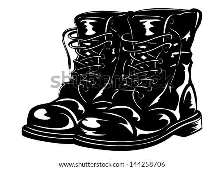vector illustration black