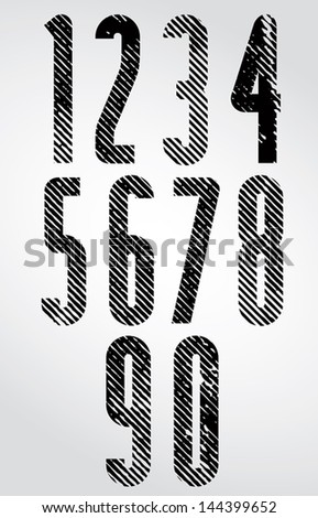 tall poster headline numbers