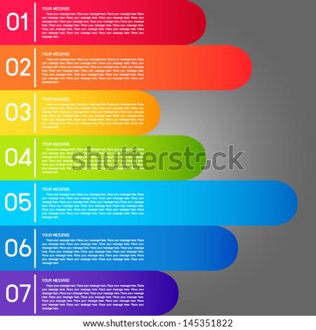 rainbow lable