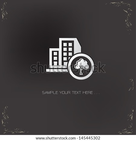 tree firm symbol vector