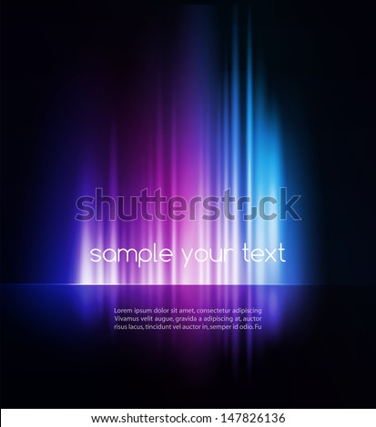 abstract vector shiny background