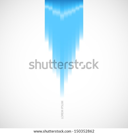 abstract background with blue