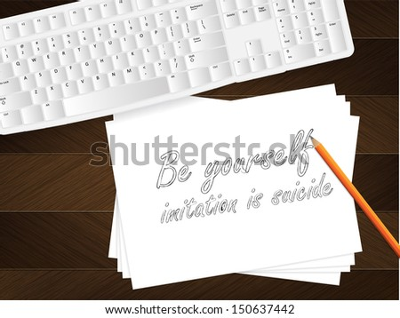 computer keyboard  sheet of