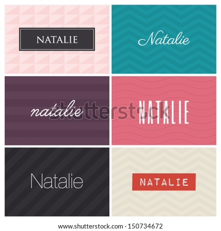 name natalie  graphic design