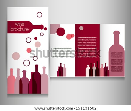 wine card for restaurant