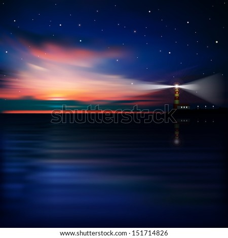 abstract sea background with