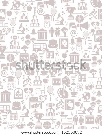 seamless background school and