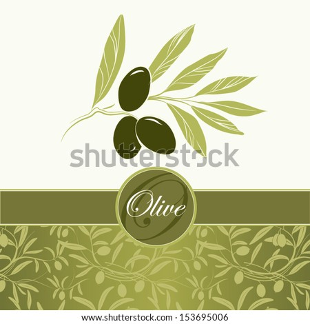 olive oilvector decorative