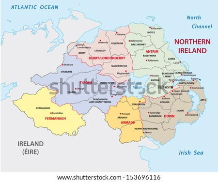 northern ireland administrative
