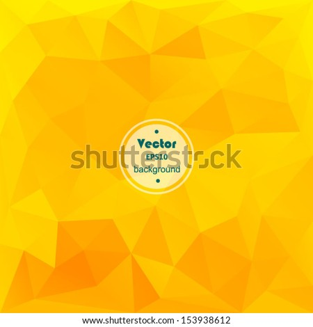 vector yellow modern geometric