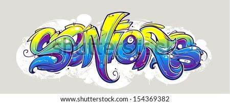 graffiti lettering wild style