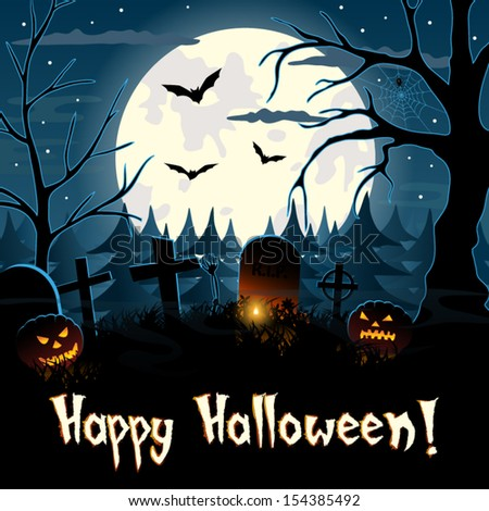 happy halloween greeting