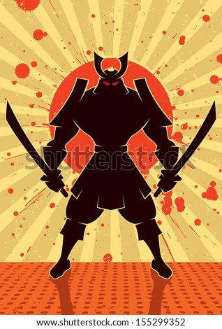 shadow samurai  cartoon